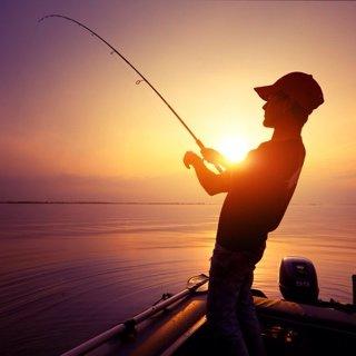 神秘钓鱼人