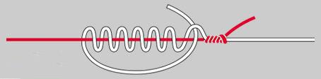 路亚主线和前导线绑法
