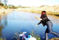 水库钓鱼打窝和用饵技巧