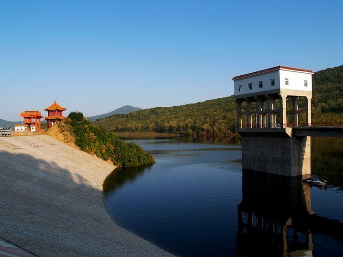 磨盘山水库