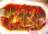 美味酸辣红烧鲫鱼的做法