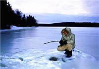 冬季北方水库红虫冰钓大鲫鱼大鲤鱼