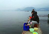 冬季千岛湖深水筏钓红尾鱼狂拉爆箱