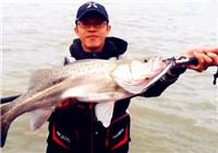 《路亚视频》 男子海钓擒获米级海鲈