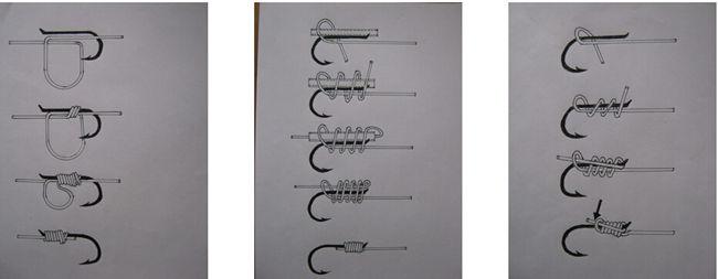 钩子的绑法