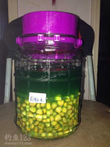 自制药酒玉米粒