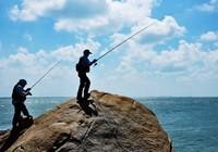 介绍钓鱼海竿的玩法