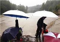 广西水库雨天细线台钓野生鲫鱼和大鲤鱼