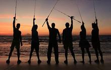 《好样的!海钓王》2015第5集 红队取巧钓法巨物上钩
