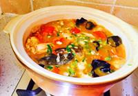 红烧鲢鱼头泡饼的做法