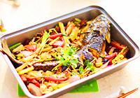 香味四溢的烤草鱼做法