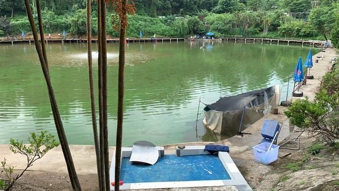 平湖生态园钓鱼场