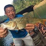 学大毛老师四两拔千斤 用巧劲 小钩细线搏大鱼 玩的就是心跳!