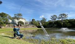 《X探釣頻道》野生鰻魚愛吃面包,兩片面包能釣好幾條鰻魚!