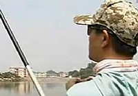 《鄧剛釣魚視頻》 第01集 春天在水庫釣魚技巧